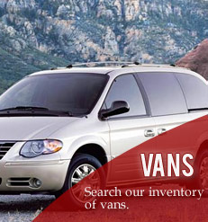 Search our van inventory
